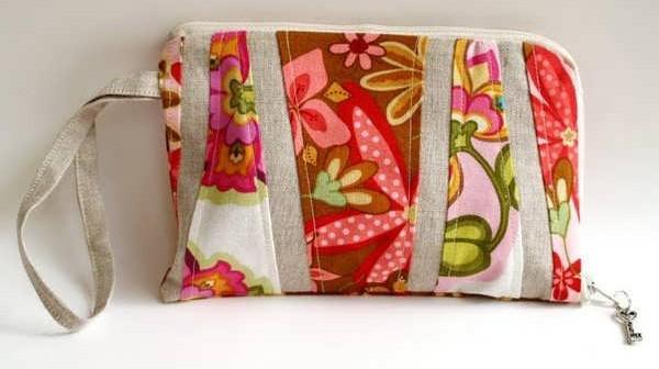 آموزش دوخت کیف پول زنانه