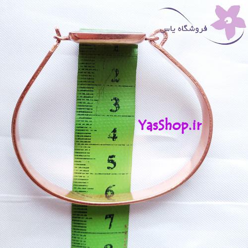 دستبند دخترانه مسی فیروزه کوب