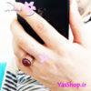 انگشتر مسی مردانه با نگین عقیق تزئینی فروشگاه اینترنتی یاس