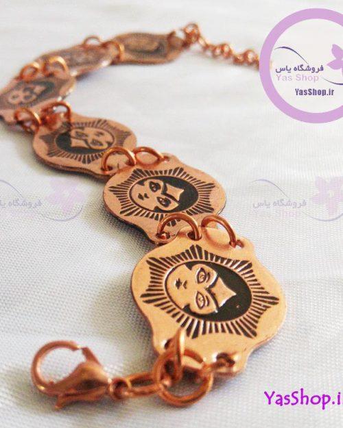 دستبند زنانه مسی مدل خاتون خرید دستبند مسی
