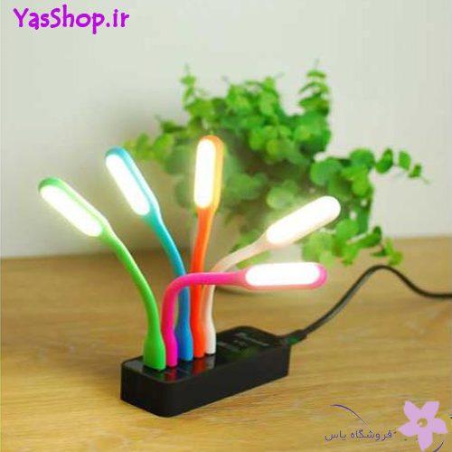 چراغ مطالعه LED USB مسواکی