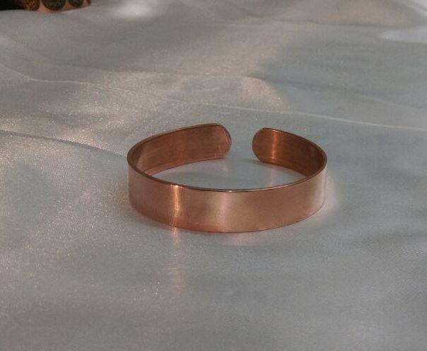 دستبند مسی مردانه ساده