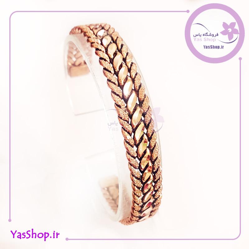 دستبند مسی مدل خوشه - دستبند دخترانه